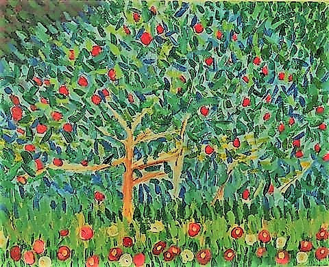 Masterpiece Workshop: Apple Tree by Guastav Klimt