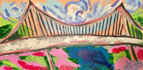 Vibrant Liberty Bridge