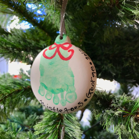 Mistletoes Baby & Toddler Ornament Art Class