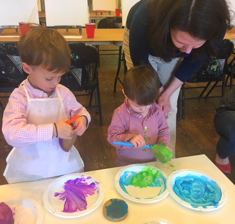 Toddler Art: Explore & Create - March