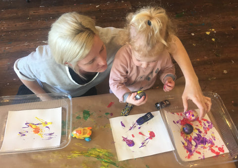 Toddler Art: Explore & Create - April