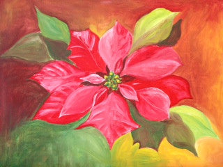 Winter Poinsettia