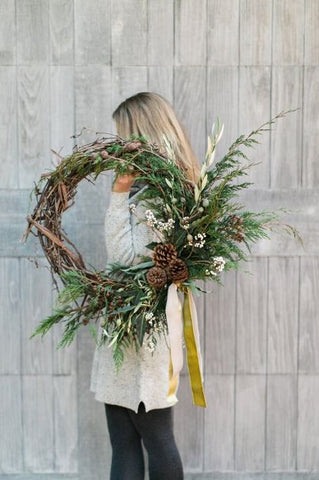 Wreath Making Class with Katelyn Pinner