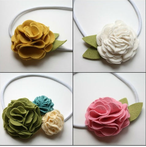 Fabric Flower Accessories: Big Kid Art