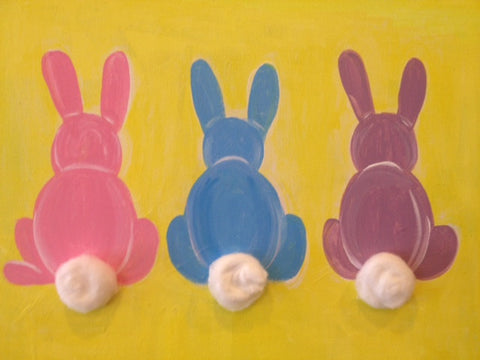 Kids Bunny Painting