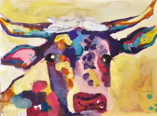 Big Kid Cow Painting Night!