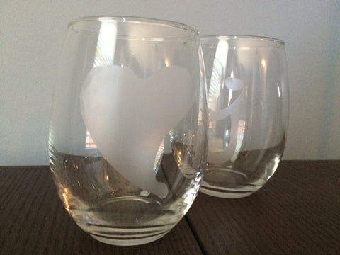 Wine Glass Etching