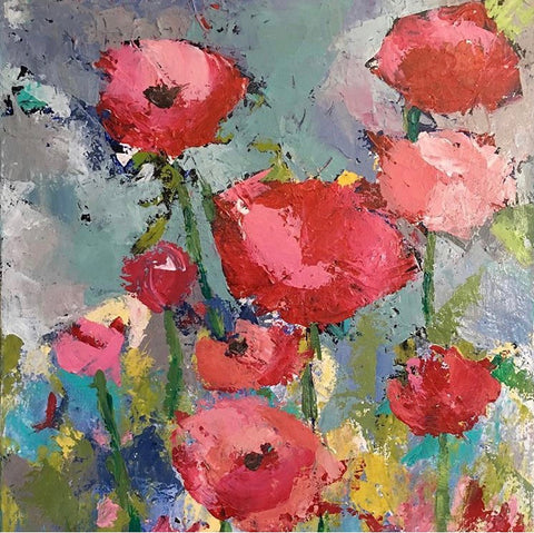 "Palette Knife ""Poppies"""