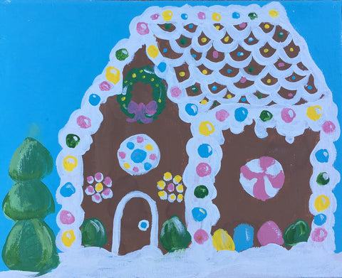 Kids: Gingerbread House