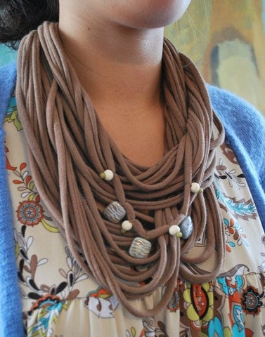 Infinity Scarves: Big Kid Art