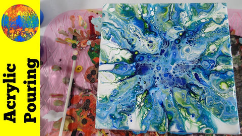 Acrylic Pouring with Guest Artist, Carey Hudson
