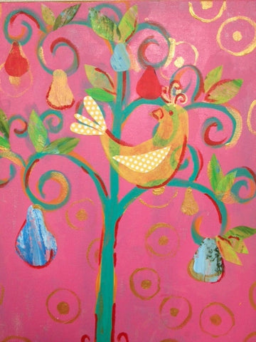 Kids Art: Partridge in a Pear Tree