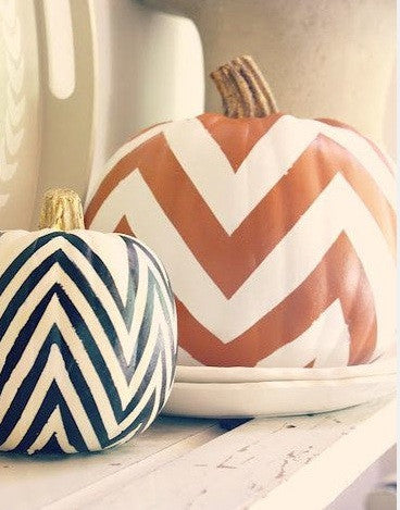 Painted Pumpkins: Big Kid Art