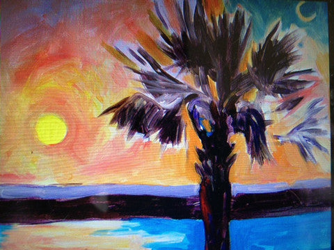 Sunset Carolina Palmetto