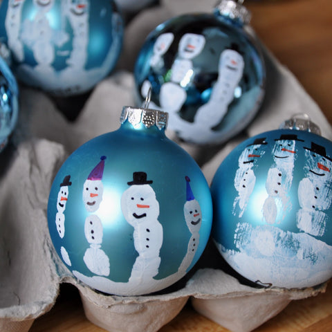 Christmas Ornament Craft: Toddler Art Class
