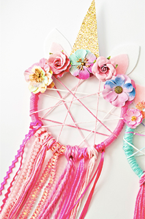 Mini Picasso: Unicorn Dream Catcher