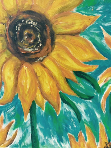 van Gogh's Sunflower