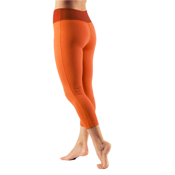 Bi Colour Yoga Capri Pants