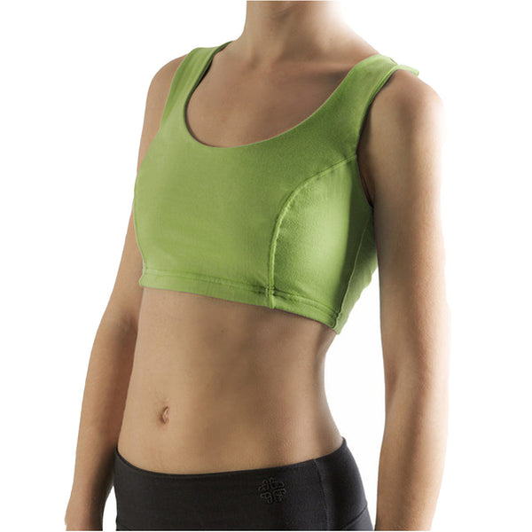 Cropped Sports Vest - Buy Yoga Clothing Made In The  UK | Gossypium