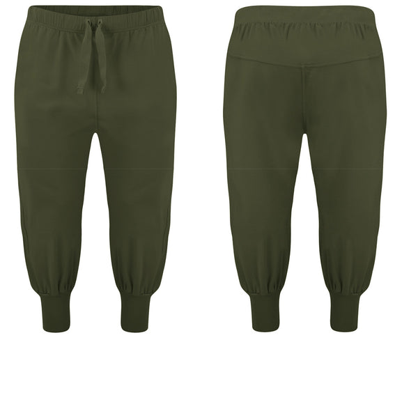 Men's Cropped Joggers - Buy Yoga Clothing Made In The  UK | Gossypium