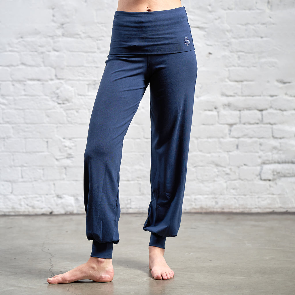 RELAX FOLD OVER HAREM PANTS