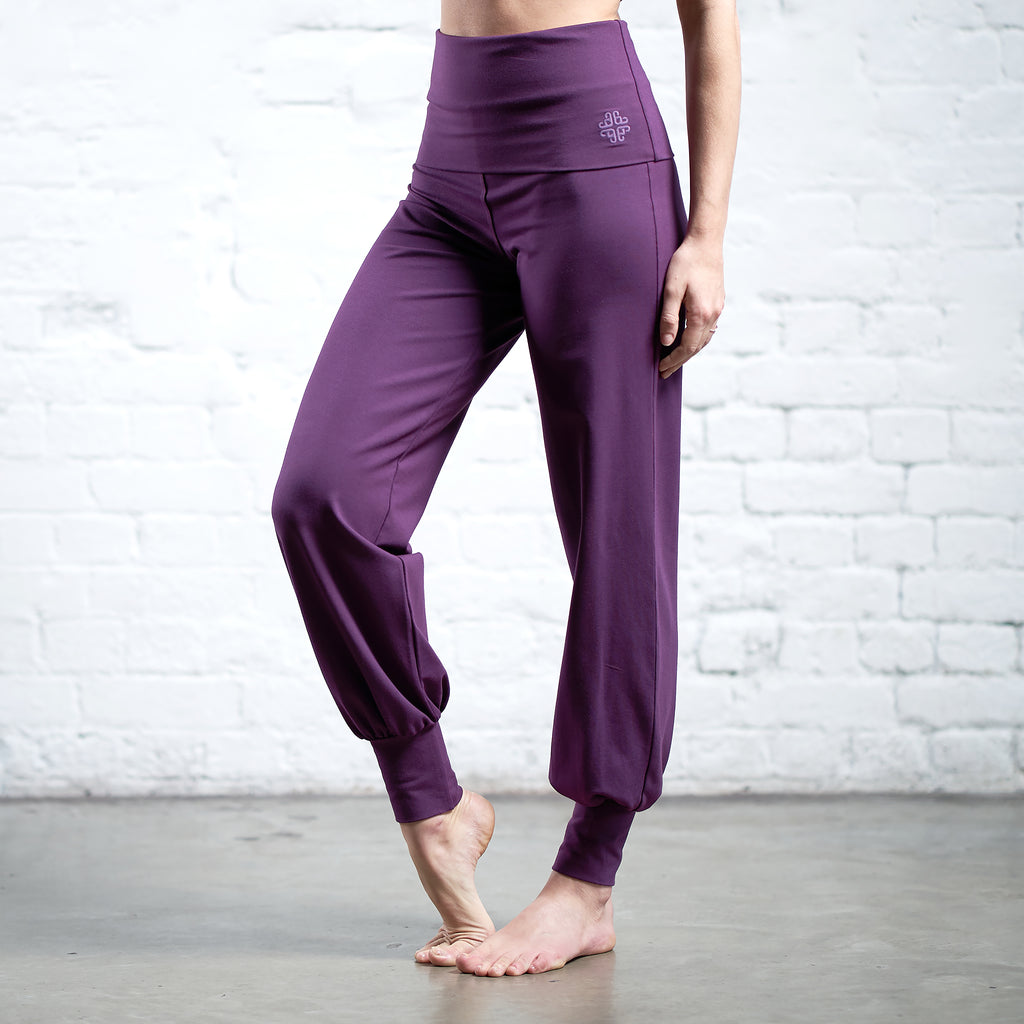 FOLD OVER HAREM PANTS