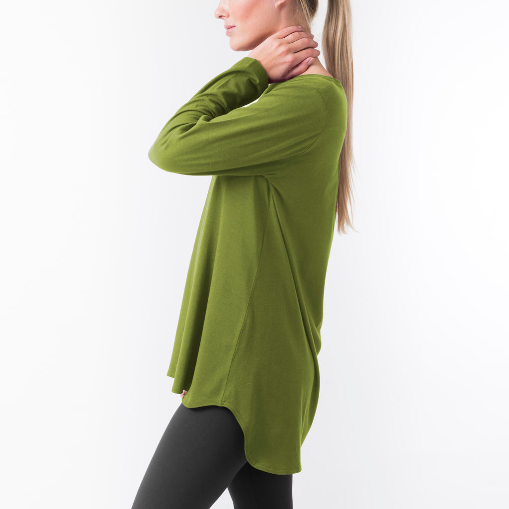 LONG SLEEVE YOGA TUNIC