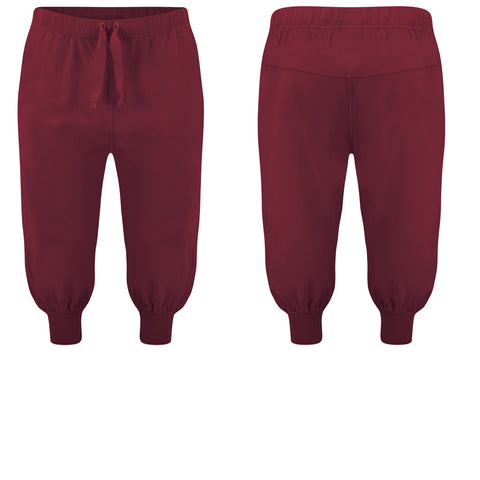 Men's Cropped Harem Pants