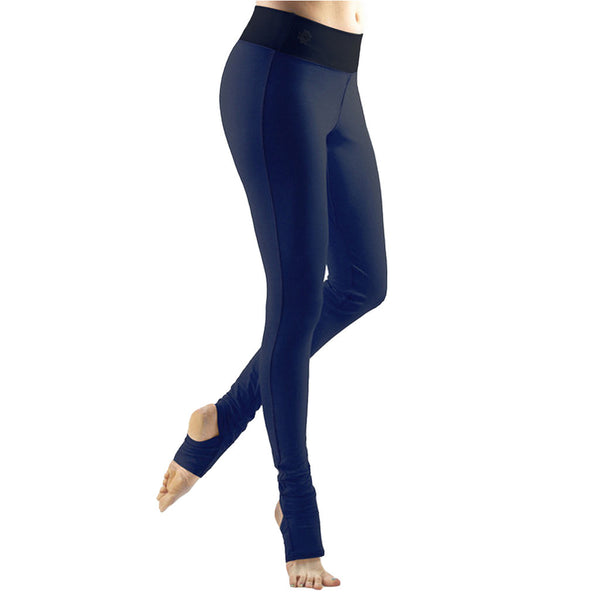 Bi Colour Stirrup Dance Leggings - Buy Yoga Clothing Made In The  UK | Gossypium