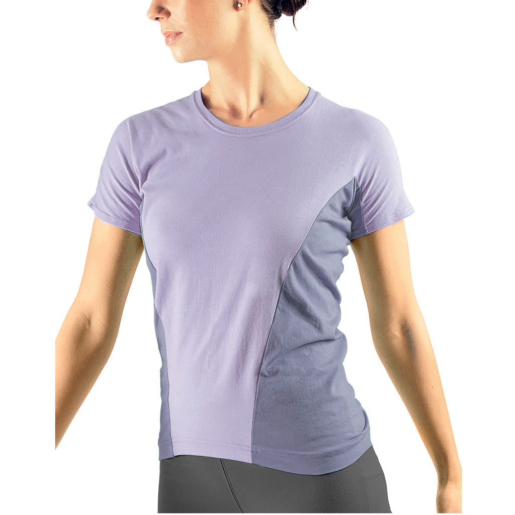 Bi Colour Sports T-shirt - Buy Yoga Clothing Made In The  UK | Gossypium