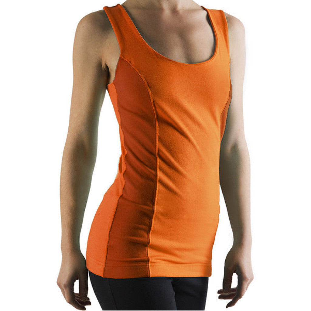 Bi Colour Sports Vest - Gossypium