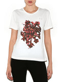 FLOWER Women Regular Fit 100%  Cotton - ONETSHIRT