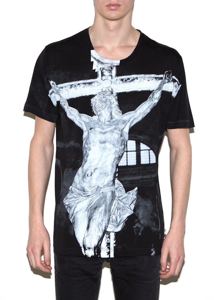 CROSS, Olivier Zahm for ONETSHIRT, Men Oversize Fit T-Shirt - ONETSHIRT