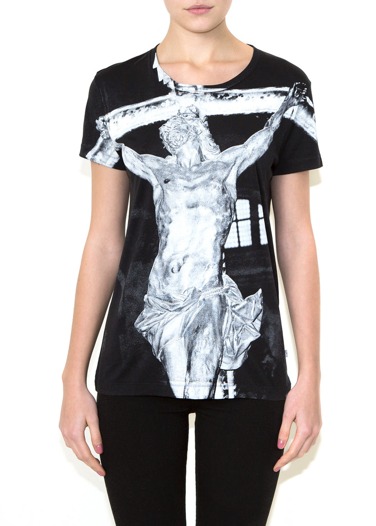 CROSS, Olivier Zahm for ONETSHIRT, Women Oversize Fit T-Shirt - ONETSHIRT