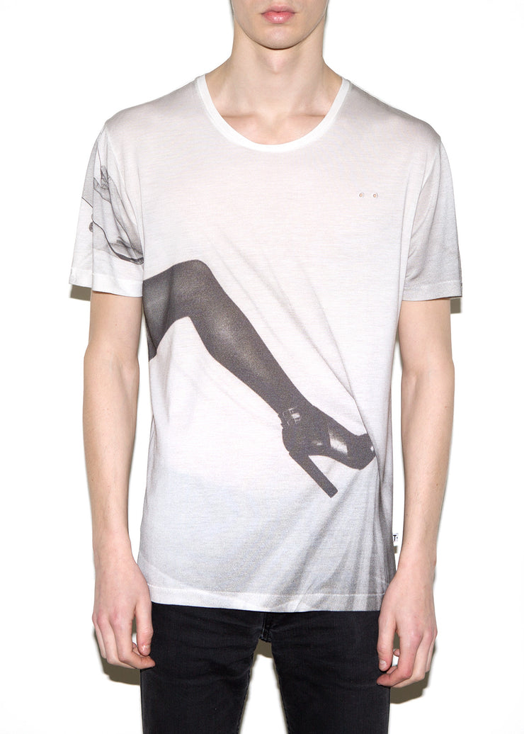 LEG, Olivier Zahm for ONETSHIRT, Men Oversize Fit T-shirt - ONETSHIRT