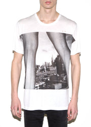 LEGS ON NYC, Olivier Zahm for ONETSHIRT, Men Oversize Fit T-shirt - ONETSHIRT