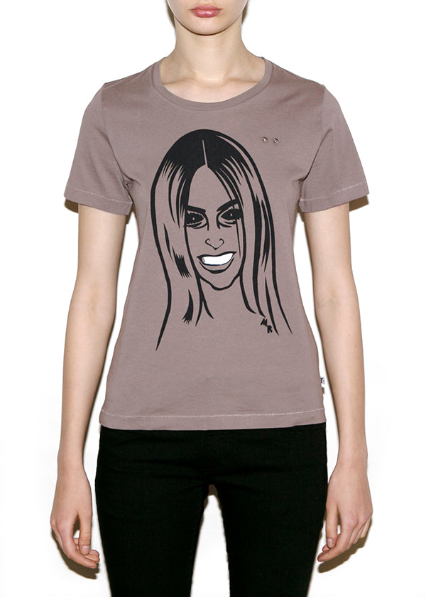 CARINE, Fashionistas by Michael Roberts, Women Regular Fit T-shirt-T-shirt-ONETSHIRT