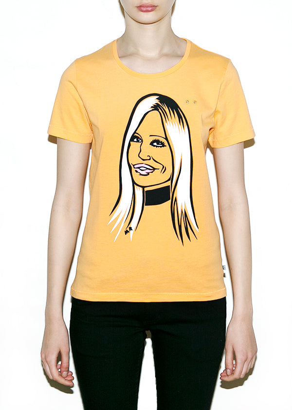 DONATELLA, Fashionistas by Michael Roberts, Women Regular Fit T-shirt-T-shirt-ONETSHIRT