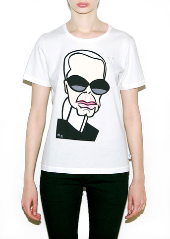 KARL Women Regular Fit T-shirt