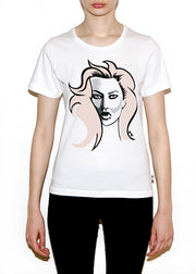 KATE, Fashionistas by Michael Roberts, Women Regular Fit T-shirt - ONETSHIRT