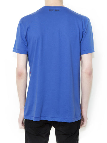 OX ON BLUE Men Regular Fit T-shirt