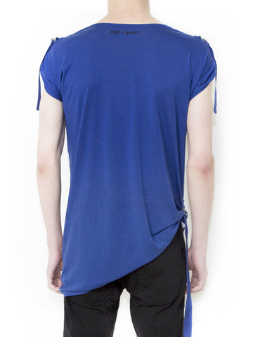 OX ON BLUE Unisex Fashion Fit T-shirt