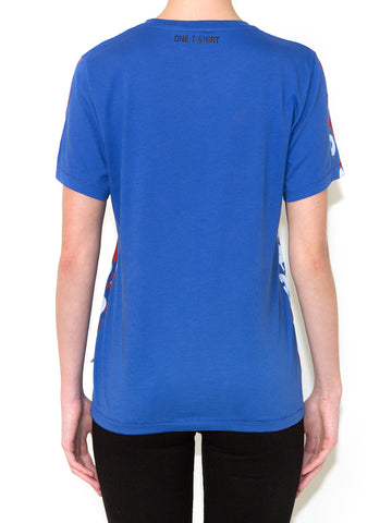 OX ON BLUE Women Regular Fit T-shirt