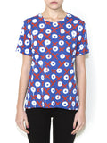 OX ON BLUE Women Regular Fit T-shirt - ONETSHIRT