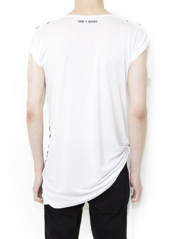 OX ON WHITE Unisex Fashion Fit T-shirt