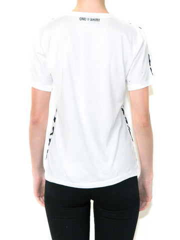 OX ON WHITE Women Regular Fit T-shirt
