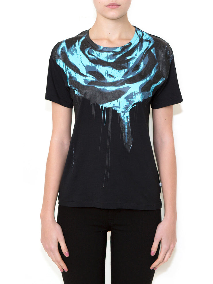 ROSE INVERTED Women Regular Fit T-shirt - ONETSHIRT