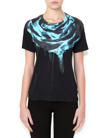ROSE INVERTED Women Regular Fit T-shirt