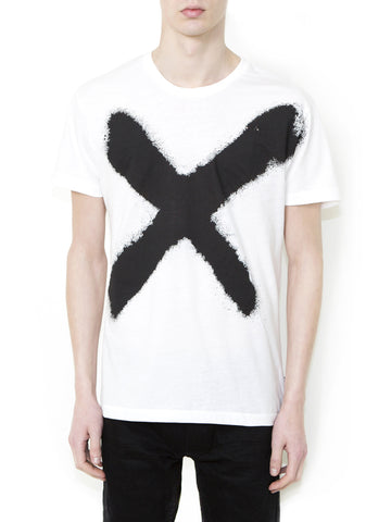 X BLACK Men Regular Fit T-shirt