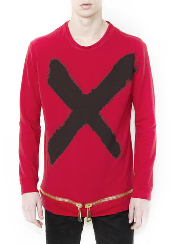 X BLACK Unisex Sweatshirt